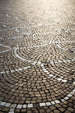 In   castano primo  street. In the castano primo  street lombardy italy  varese abstract   pavement of a curch and marble Royalty Free Stock Photography