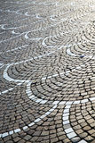 In castano primo street lombardy italy. In the castano primo  street lombardy italy  varese abstract   pavement of a curch and marble Stock Images
