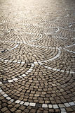Castano primo  street. In the castano primo  street lombardy italy  varese abstract   pavement of a curch and marble Stock Photography