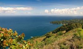 Castara bay - Tobago island - Caribbean sea. Republic of Trinidad and Tobago - Castara bay - Tobago island - Caribbean sea royalty free stock image
