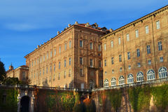 Caste in Aglie, Italy. Palazzo Ducale in Aglie, Italy. Castle in a sunny day Stock Image