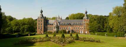 Caste of arenberg exterior leuven Stock Photos