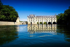 Caste of Chenonceau Royalty Free Stock Image