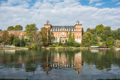 The caste on the Po river, Turin. A caste on the Po river in  Turin, Italy Royalty Free Stock Image