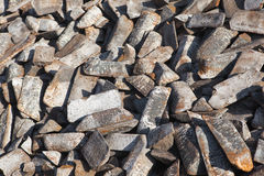 Casted pig iron Stock Images