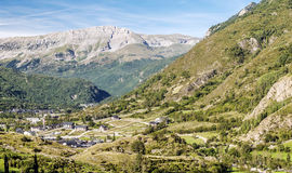 Castejon village Royalty Free Stock Image