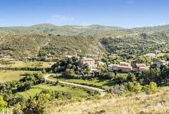 Castejon village Stock Photography