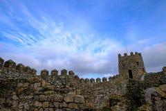 Castel ściany fotografia stock