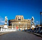 Castel Άγιος ` Angelo, Ρώμη Στοκ εικόνα με δικαίωμα ελεύθερης χρήσης
