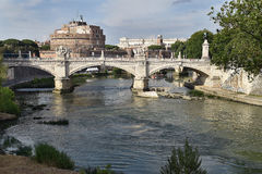 Castel Άγιος Angelo, Ρώμη Στοκ εικόνες με δικαίωμα ελεύθερης χρήσης