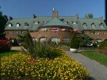castel νησί Άγιος της Helen κήπων Στοκ Εικόνα