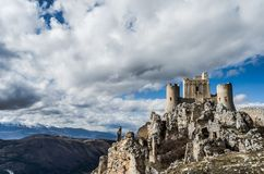 Castel στον ουρανό στοκ εικόνα