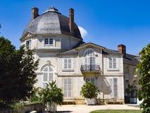 Castel в французском парке стоковые фотографии rf