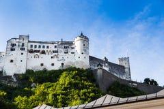 Castel Зальцбурга стоковая фотография