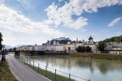 Castel Зальцбурга стоковые изображения