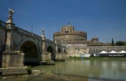 castel Италия rome angelo sant Стоковые Фотографии RF