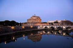castel Италия rome angelo sant Стоковые Изображения RF