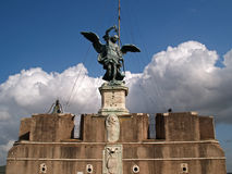 Castel of Angel Royalty Free Stock Images