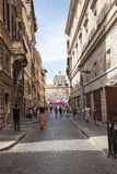 Castel Angelo sant à Rome Images libres de droits