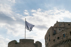 Castel Angelo sant à Rome Photos stock
