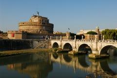 Castel Angelo sant Images libres de droits