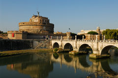 Castel Angelo sant imagens de stock royalty free