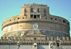 Castel Angelo sant Photographie stock libre de droits