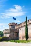 Castel Angelo sant en point de repère médiéval célèbre d'Européen de Rome Photographie stock libre de droits
