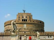 Castel Angelo sant a Roma Fotografia Stock