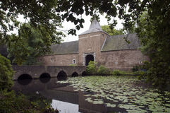 Castel arcen. Castle arcen Holland with water and big gardens Royalty Free Stock Photos