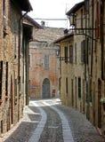 Castel Arquato, Piacenza, Ital Fotografía de archivo