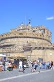 Castel av den Sanka ängeln eller mausoleum av Adrian Royaltyfri Bild
