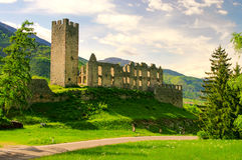 Castel Belfort Photographie stock