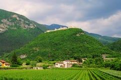 Castel Beseno Stock Photos
