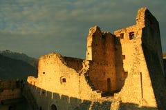 Castel Beseno Stock Afbeeldingen