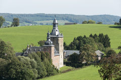 Castel Beusdael in the belgium place sippenaeken Stock Image