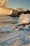 Castel Boccale Stock Photo