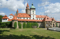 Castel Bouzov Στοκ εικόνες με δικαίωμα ελεύθερης χρήσης