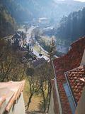 Castel Bran royaltyfria bilder