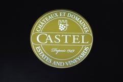 Castel brand Stock Photo