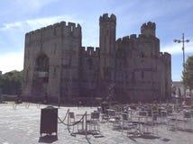 Castel Caernarfon Стоковое Изображение