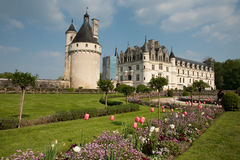 castel chenonceaux法国 图库摄影