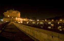 castel d'Angelo sant Photos stock