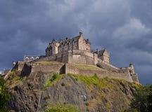 Castel de Edimburgo foto de stock