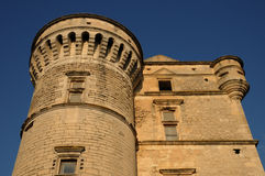 Castel de Gordes em Provence Foto de Stock