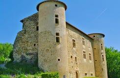 Castel de la Edad Media Foto de archivo