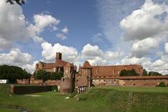 Castel de Malbork Photographie stock libre de droits