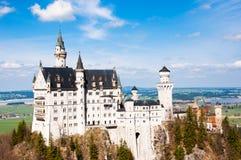 Castel de Nueschwanstein, Alemania Foto de archivo libre de regalías