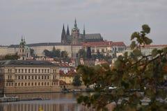 Castel de Praga foto de archivo