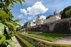 Castel de Rigny-Usse Loire Valley, Francia fotografía de archivo libre de regalías